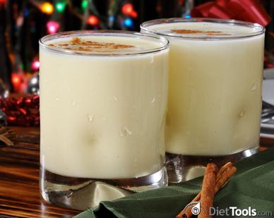Eggnog at Christmas