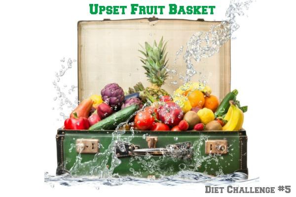 Upset Fruit Basket