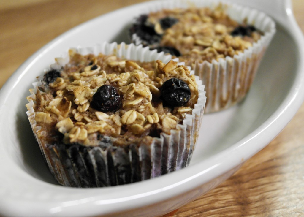 oatmeal blueberry mufin