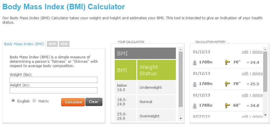 bmi calculator and diet weight tracker tool diet tools blog