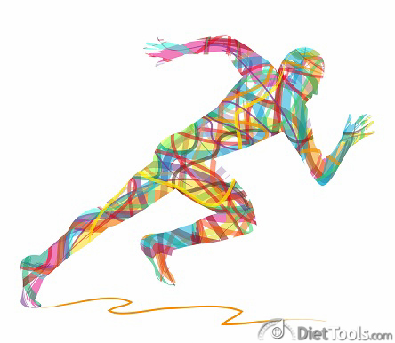 colored runner