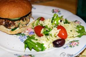 orzo arugula pasta salad