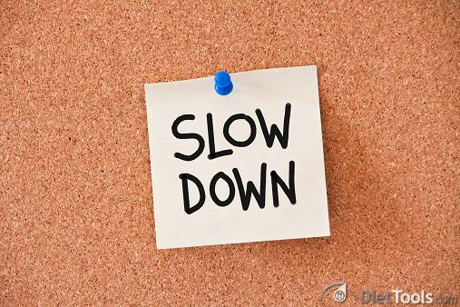 memo: slow down