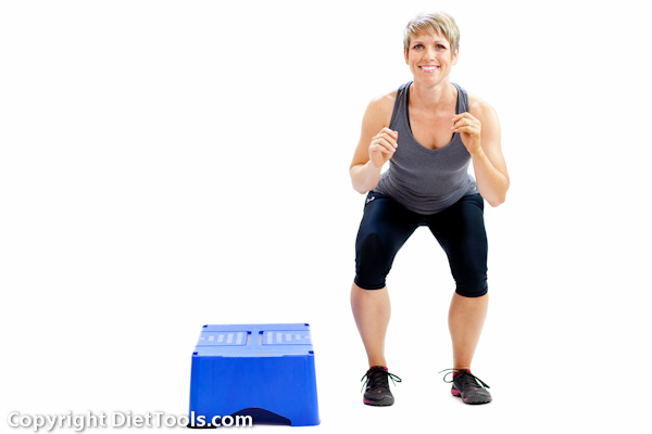 Lose fats in arms