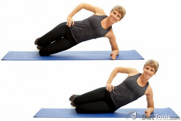 Master the Abs with Side Bridges